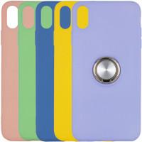 "TPU чохол Summer ColorRing під магнітний тримач для Apple iPhone XS Max (6.5"")"