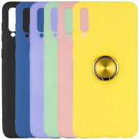 TPU чехол Summer ColorRing под магнитный держатель для Samsung Galaxy A30s