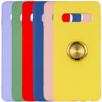 TPU чехол Summer ColorRing под магнитный держатель для Samsung Galaxy S10