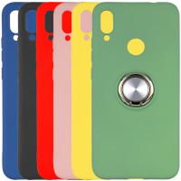 TPU чехол Summer ColorRing под магнитный держатель для Xiaomi Redmi 7