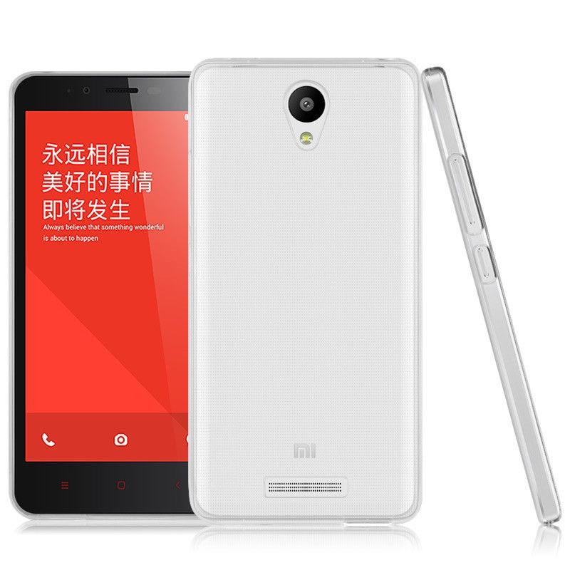 TPU чехол Ultrathin Series 0,33mm для Xiaomi Redmi Note 2 / Redmi Note 2 Prime