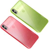 "TPU чехол X-Level Rainbow Series для Apple iPhone X / XS (5.8"")"