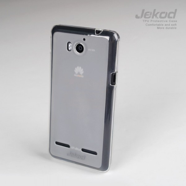Купить TPU чехол Jekod для Huawei U8950D (Ascend G600)/U9508 (Honor 2) (+ пленка) за 59 грн