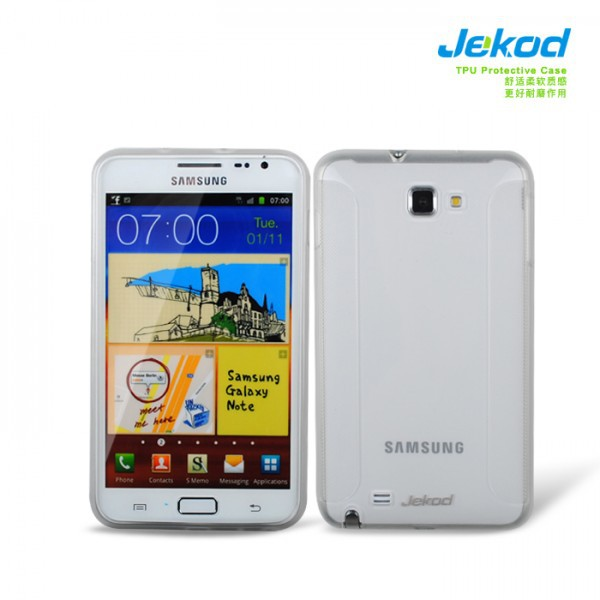 TPU чехол Jekod для Samsung N7000 Galaxy Note (+ пленка) на itsell.ua