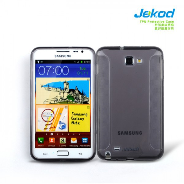 Купить TPU чехол Jekod для Samsung N7000 Galaxy Note (+ пленка) за 59 грн