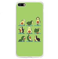 TPU чехол Avocado для Apple iPhone 5/5S/SE