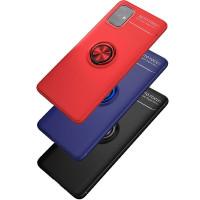 TPU чехол Deen ColorRing под магнитный держатель (opp) для Samsung Galaxy M31s