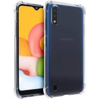 TPU чехол Epic Ease с усиленными углами для Samsung Galaxy A01