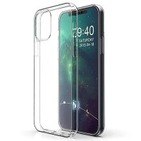TPU чехол Epic Transparent 1,0mm для Apple iPhone 12 (6.1'')