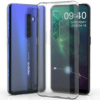 TPU чехол Epic Transparent 1,0mm для Oppo Reno 2