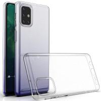 TPU чехол Epic Transparent 1,0mm для Samsung Galaxy M31s