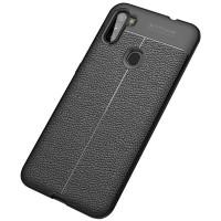 TPU чехол фактурный (с имитацией кожи) для Samsung Galaxy A11 / M11