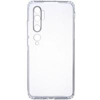 TPU чехол GETMAN Clear 1,0 mm для Xiaomi Mi Note 10 Pro
