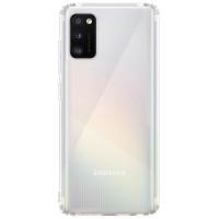 TPU чехол GETMAN Transparent 1,0 mm для Samsung Galaxy A41