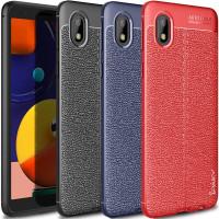 TPU чехол iPaky Litchi Series для Samsung Galaxy A01 Core