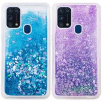 TPU чехол Liquid hearts для Samsung Galaxy M31