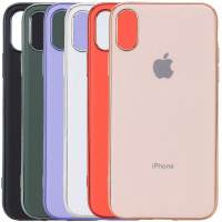 "TPU чехол Matte LOGO для Apple iPhone XS Max (6.5"")"