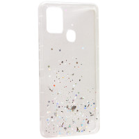 TPU чехол Star Glitter для Samsung Galaxy A21s