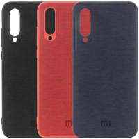 TPU чехол Textile Logo для Xiaomi Mi 9 SE