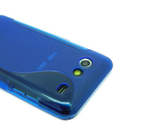 Купить TPU Duotone для Samsung i9070 Galaxy S Advance синий на itsell.ua