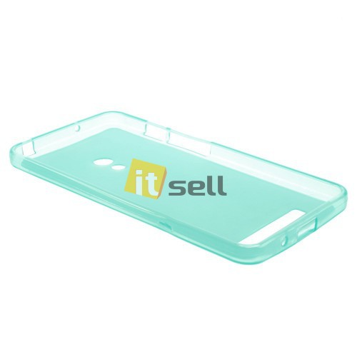 TPU Matte Double-sided для Asus Zenfone 5 (A501CG) Бирюзовый (soft-touch) на itsell.ua