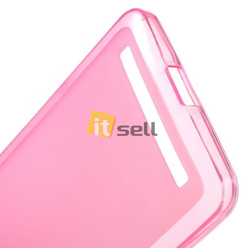 TPU Matte Double-sided для Asus Zenfone 6 Розовый (Soft touch) в магазине itsell.ua