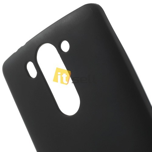 TPU Matte для LG D724/D722 G3S Черный (soft-touch) на itsell.ua