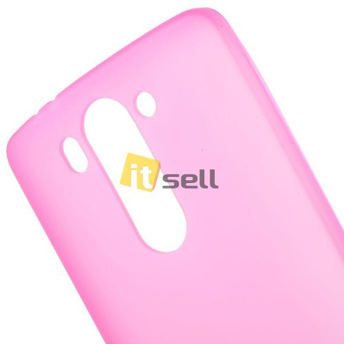TPU Matte для LG D724/D722 G3S Розовый (Soft touch) на itsell.ua