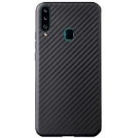 TPU чехол Epic Carbon для Samsung Galaxy A20s