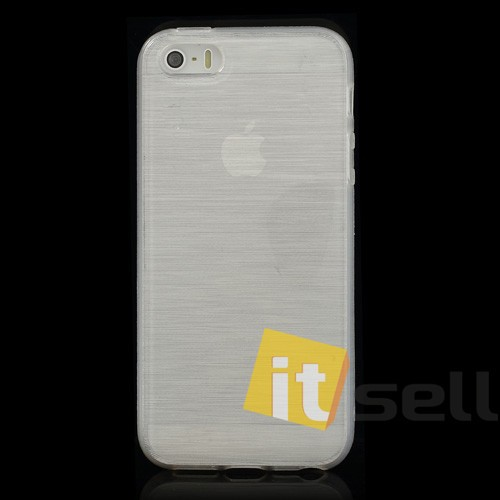 Фото TPU Pearl Lines чехол для Apple iPhone 5/5S/SE Белый на itsell.ua