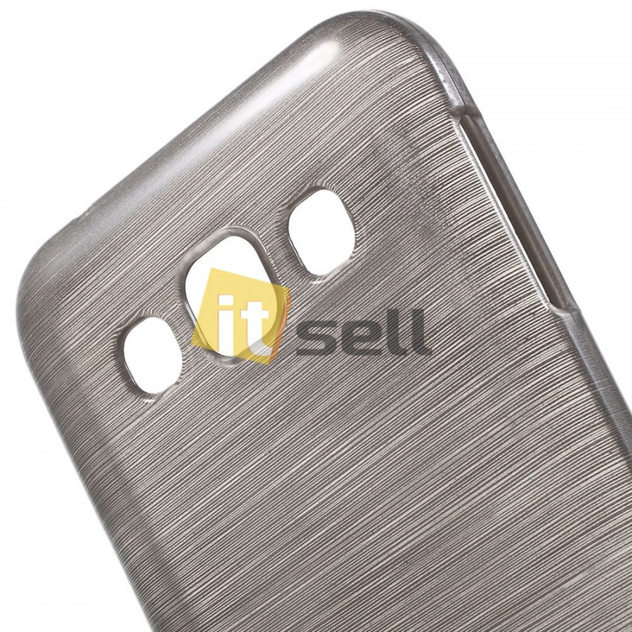 TPU Pearl Lines чехол для Samsung E500H/DS Galaxy E5 Серый на itsell.ua
