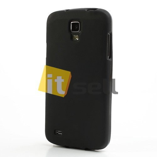 Фото TPU чехол для Samsung i9295 Galaxy S4 Active Черный (soft-touch) на itsell.ua