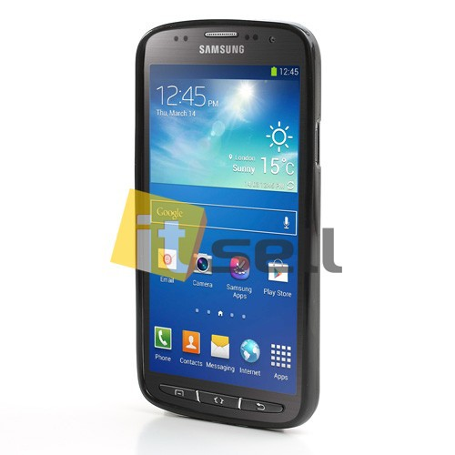 Фото TPU чехол для Samsung i9295 Galaxy S4 Active Черный (soft-touch) в магазине itsell.ua