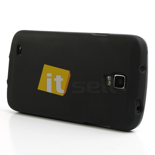 TPU чехол для Samsung i9295 Galaxy S4 Active Черный (soft-touch) в магазине itsell.ua