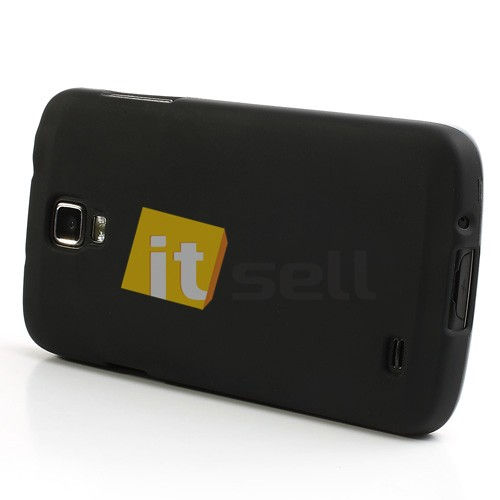 TPU чехол для Samsung i9295 Galaxy S4 Active Черный (soft-touch) на itsell.ua