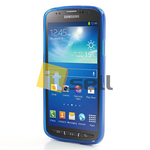 Фото TPU чехол для Samsung i9295 Galaxy S4 Active Синий (soft touch) в магазине itsell.ua