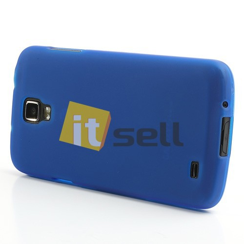 TPU чехол для Samsung i9295 Galaxy S4 Active Синий (soft touch) в магазине itsell.ua