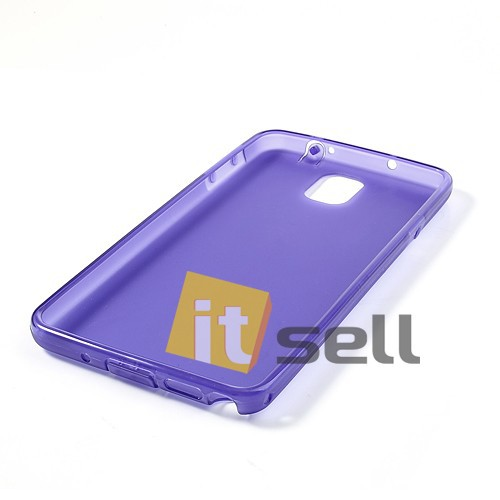 Фото TPU чехол для Samsung N9000/N9002 Galaxy Note 3 Фиолетовый (soft touch) на itsell.ua