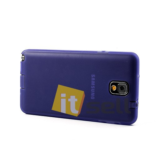 TPU чехол для Samsung N9000/N9002 Galaxy Note 3 Фиолетовый (soft touch) в магазине itsell.ua