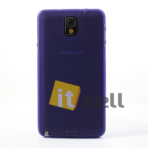 TPU чехол для Samsung N9000/N9002 Galaxy Note 3 Фиолетовый (soft touch) на itsell.ua