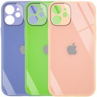 "TPU+Glass чехол GLOSSY Logo Full camera (opp) для Apple iPhone 12 mini (5.4"")"