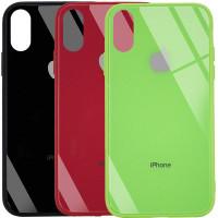 "TPU+Glass чехол GLOSSY Logo (opp) для Apple iPhone XS Max (6.5"")"