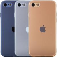 TPU+Glass чехол Matte Candy Full camera для Apple iPhone 7 (4.7'')