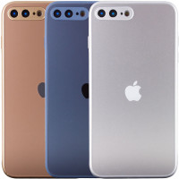 TPU+Glass чехол Matte Candy Full camera для Apple iPhone 7 plus (5.5'')