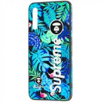 TPU+Glass чехол Cute Print для Samsung Galaxy A30s