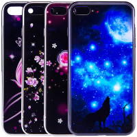 Купить TPU+Glass чехол Fantasy с глянцевыми торцами для Apple iPhone 7 plus / 8 plus (5.5 ), Epik