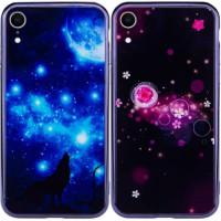 Купить TPU+Glass чехол Fantasy с глянцевыми торцами для Apple iPhone XR (6.1 ), Epik