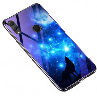 TPU+Glass чохол Fantasy з глянсовими торцями для Huawei Honor 10 Lite