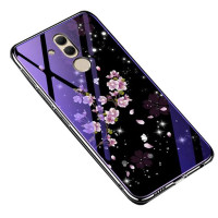 TPU+Glass чехол Fantasy с глянцевыми торцами для Huawei Mate 20 lite