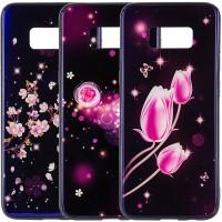 TPU+Glass чехол Fantasy с глянцевыми торцами для Samsung G950 Galaxy S8